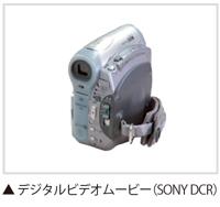 デジタルビデオムービー(SONY DCR)