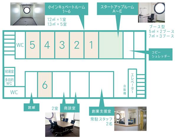 フロアマップ (8階)